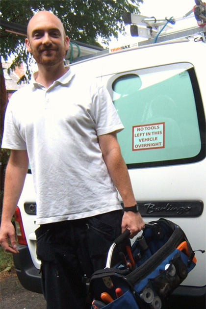 Chris Sutcliffe, Aquarius Plumbing